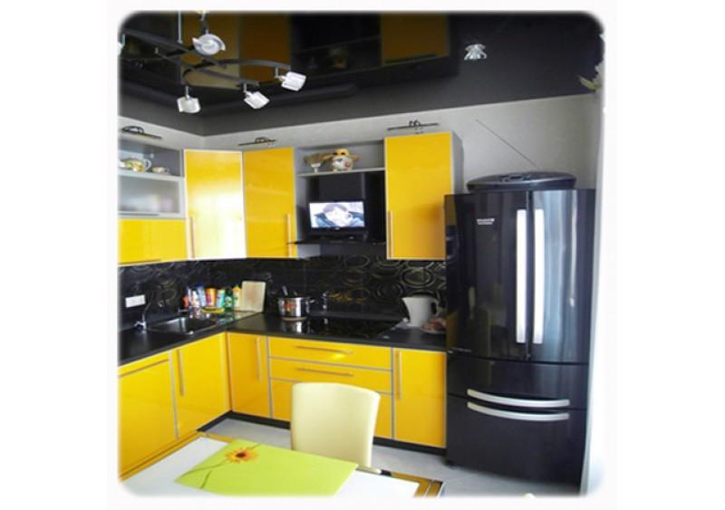 """Кухня """"Желтый Альтамир"""""""