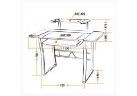 Компьютерный стол WRX-05